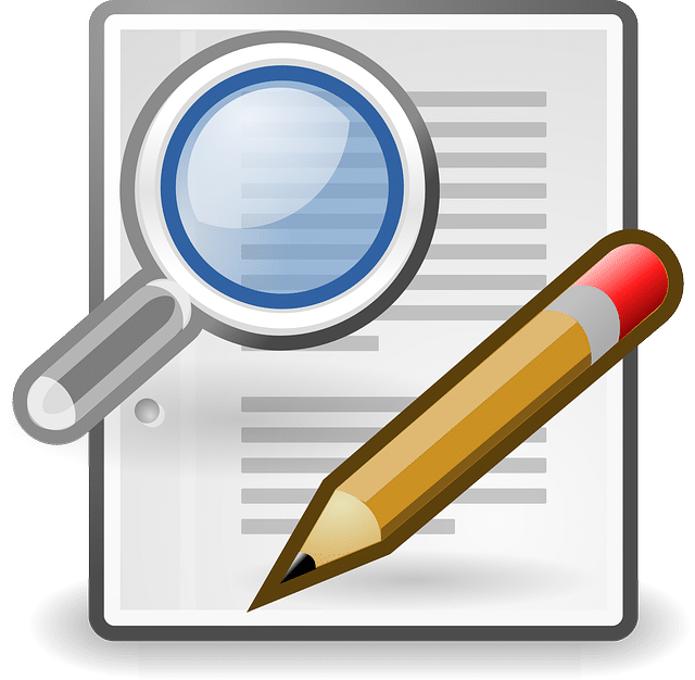 proof reading and editing services