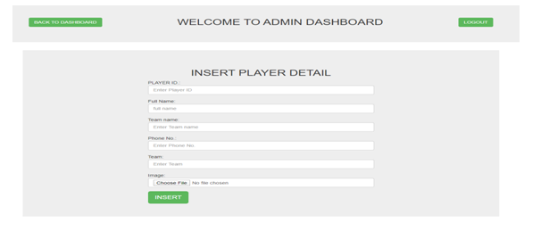 Intranet Systems Development - Badminton Team Management Application