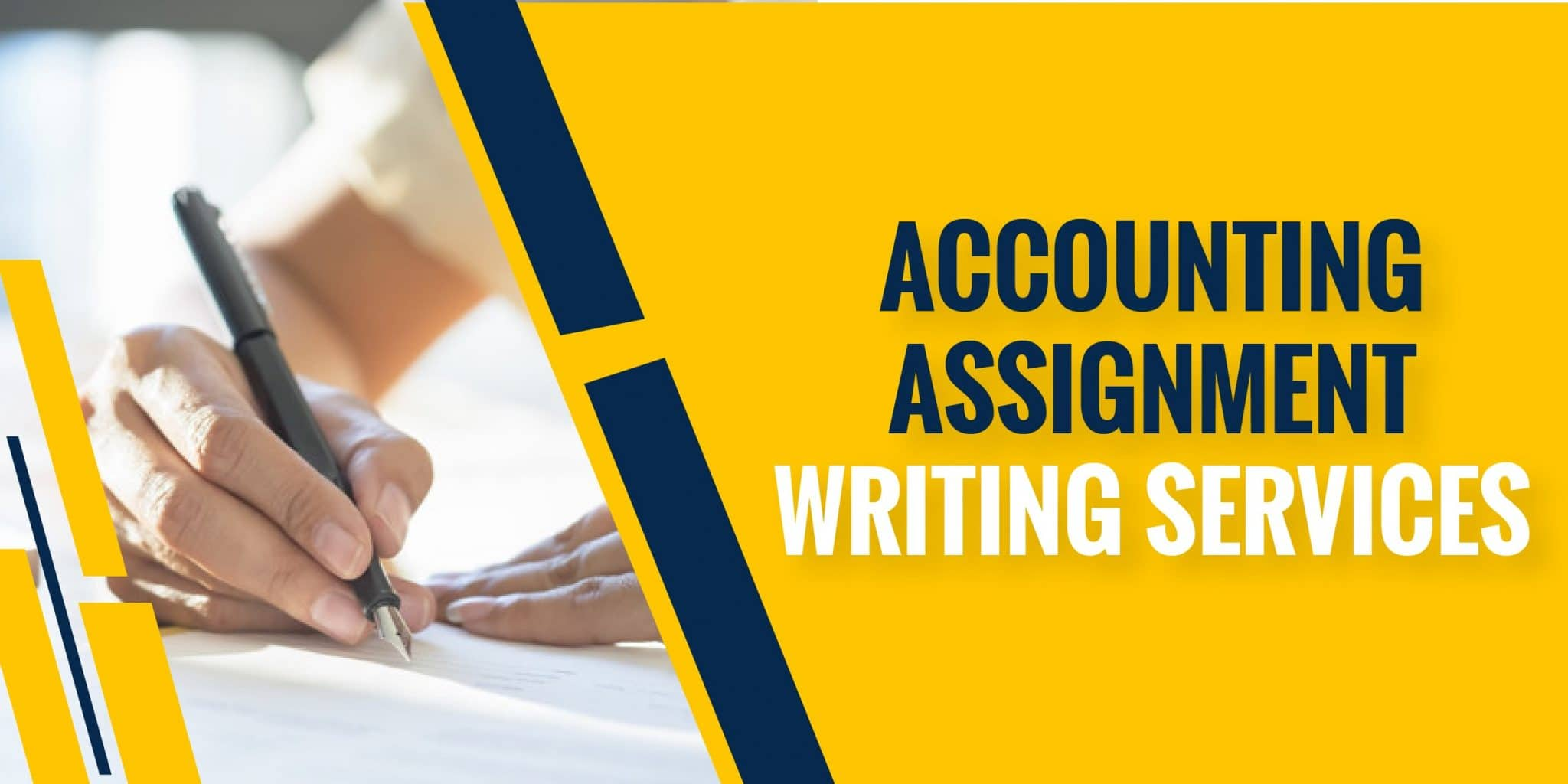 Accounting Assignment writing services