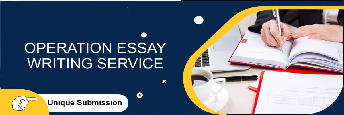 Operations Essay Writing Services